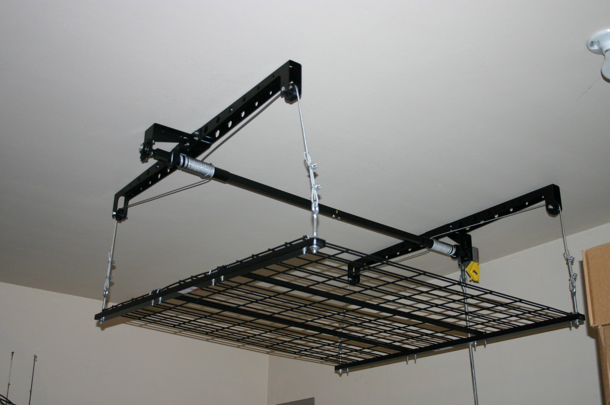 bike dp to flat ceiling overhead bikes improvement com home amazon rack the new garage lift store